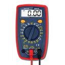 デンキ博士 テスター デジタル マルチメーター 電気 電圧 電流 抵抗 ダイオード 測定 導通 バックライトLCD DEBHAKA