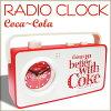 【コカコーララジオアラームクロック】ラジオ付き目覚まし時計(Coca-Cola/シングス/JJ11)ロゴアメリカンダイナーガレージ男前おしゃれプレゼントブランドドリンクプレゼントアメリカン雑貨アメリカ雑貨コカ・コーラ
