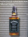 ビッグ ジャックダニエル ボトル アメリカン メタルサイン 78cm ...