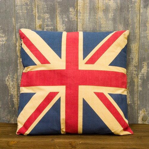 カントリーイングランド ユニオンジャックのクッション イギリス国旗 UK UK雑貨 西海岸風 インテリア アメリカン雑貨