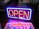OPEN(オープン)Sサイズ 31cm ネオンサイン ネオン管 ネオン...