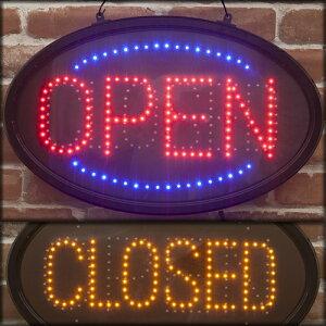 ★オープン&クローズLED ネオンボード/電光板/電飾ボード/看板