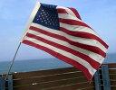星条旗フラッグ&ポールセット ビッグUSAフラッグ アメリカ国旗 国旗...