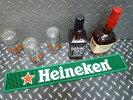 ハイネケン・バーマット/グラスマット(ロングサイズ)アメリカおしゃれ輸入バーグッズパブバービール