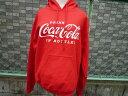 大人気コカコーラ! スエットパーカー Coca-Cola/レッド プルオーバーパーカー パーカー USA