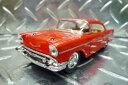 1957年式 シボレー・ベルエア 【 1 40 ミニカー】 12cm ビンテージカー アメ車 西海岸...