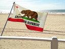 カリフォルニアリパブリックのアメリカン フラッグ 国旗 州旗 アメリカ西海岸 フラッグ 西海岸...