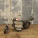 ビンテージ加工 ブリキカー バイク(6965/USA/20cm)ミニチュア ビンテージバイク ガレージ インテリア 世田谷ベース 所さん アメリカン雑貨
