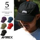 AVIREX アビレックス キャップ AVIREX ワンポイント ロゴ ローキャップ 14995400