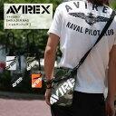 AVIREX アビレックス ミニポーチ サコッシュ ショルダーバック AVX003▲