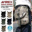 AVIREX avirex EAGLE ショルダーレッグバッグ AVX348L▲