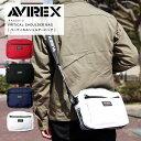 AVIREX アビレックス バーチカルショルダーバッグ AX2012▲【SALE 返品・交換不可】