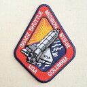 ロゴワッペン NASA ナサ(STS-062) NFC-001-062 ワッペン アイロン 通販 アップリケ ブレザー シャツ エンブレム アルファベット イニシャル ミリタリー 入園 名前 キャラクター