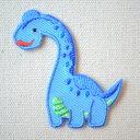 ワッペン へなちょこZOO(恐竜/プラキオサウルス) HE321-HE23 アイロン ブランド 通販 アップリケ ブレザー シャツ エンブレム アルファベット イニシャル ミリタリー 入園 名前 キャラクター SSS