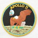 ロゴワッペン アポロ11号記章 Apollo 11(宇宙/糊