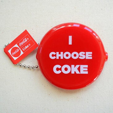 ラバーコインケース コカコーラ/COKE(CHOOSE) COA-002-CS 小銭入れ キーホルダー アメリカ アメリカ雑貨 シリコン ブランド