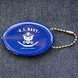 ラバーコインケース U.S.Navy アメリカ海軍(ネイビー) RCC-001 小銭入れ,キーホルダー,アメリカ,アメリカ雑貨,シリコン,ブランド