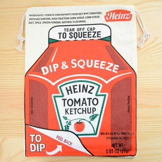 美國標誌拉繩袋 (L) 亨氏番茄醬 Heinz LJK L026