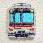 鉄道/電車 トレインミニワッペン 東急5000系 TR380-TR41 アイロン アップリケ パッチ アルファベット エンブレム 名前 ミリタリー 車 ディズニー ワッペン SSS