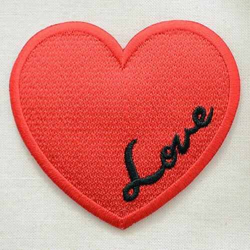 裁縫材料, ワッペン・アップリケ  Love Heart MTW-021