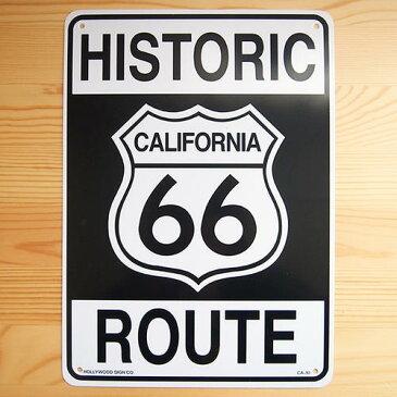 看板/プラスチックサインボード ヒストリックルート66 Route66 CA-30 *DM便(旧メール便)不可 木製 ガレージ 庭 メッセージ 什器 店舗什器 アメリカ雑貨 アンティーク ボード ロード アメリカ