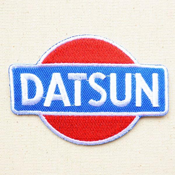 裁縫材料, ワッペン・アップリケ  Datsun LGW-067 SSS