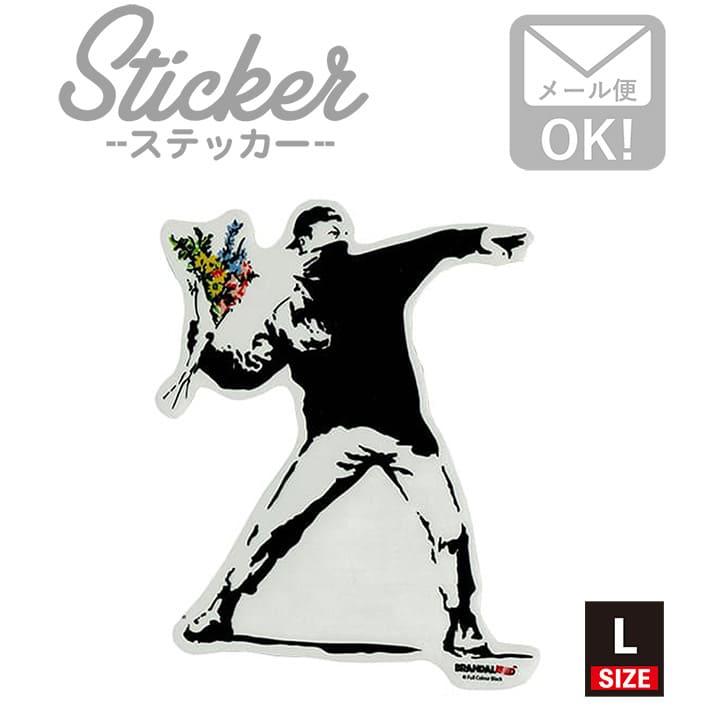 ラベル・ステッカー, シール・ステッカー  Flower Bomber 001 L