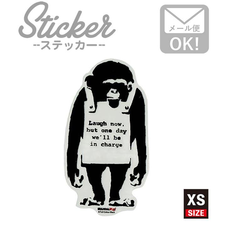 ラベル・ステッカー, シール・ステッカー  Do Nothing Monkey sign 007 XS