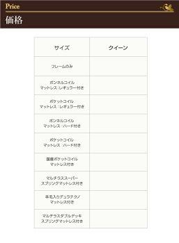 モダンデザイン・大型サイズチェストベッド【Grandluna】グランルーナ【国産ポケットコイルマットレス付き】クイーン()