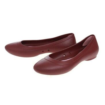 クロックス(crocs) クロックス リナ フラット Crocs Lina Flat RED #203404-612 (Lady's)