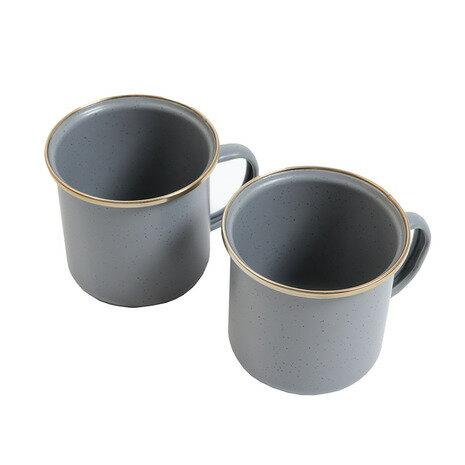 【エントリーでポイント14倍〜!】ベアボーンズ(Barebonesliving) エナメルカップ 2個セット *20235021002000 (Men's、Lady's、Jr)