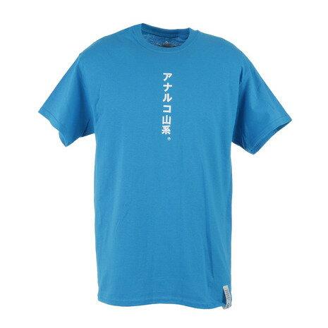 トップス, Tシャツ・カットソー 10OFF725MOUNTAIN RESEARCH Anarcho YAMA-KEI T Mountain Research 3326BLUE