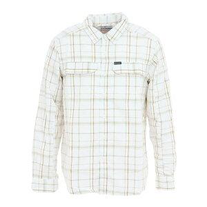 コロンビア(Columbia) 長袖シャツ シルバーリッジ2.0プラッドロングスリーブシャツ AE0649 101 (メンズ)