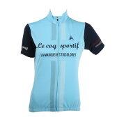 ルコック スポルティフ(Lecoq Sportif) 半袖ジャージ レディース 女性用 自転車 ウェア QC-746471 WSX (Lady's) サイクルウェア ジャージ レディース