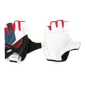 シマノ(SHIMANO) Asphalt グローブ メンズ サイクリング ショートフィンガーグローブ ECWGLBSPS41MI WHITE (Men's)
