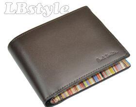 ポールスミス財布メンズpaulsmith財布メンズポール・スミスマルチストライプ牛革二つ折り財布ポールスミス900-0613