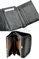 ★paulsmithポールスミス財布レディースハンティングレザー牛革がま口三つ折財布ポールスミス100-0202