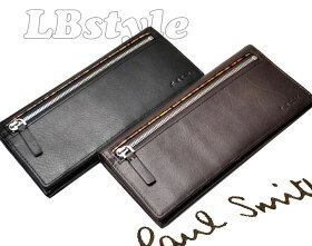 ■paulsmithポールスミス財布ジップシグ牛革マルチストライプ長財布ポールスミス900-0331