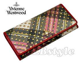 ■viviennewestwoodヴィヴィアンウエストウッド財布型押し牛革長財布ヴィヴィアンイタリア製900-0312