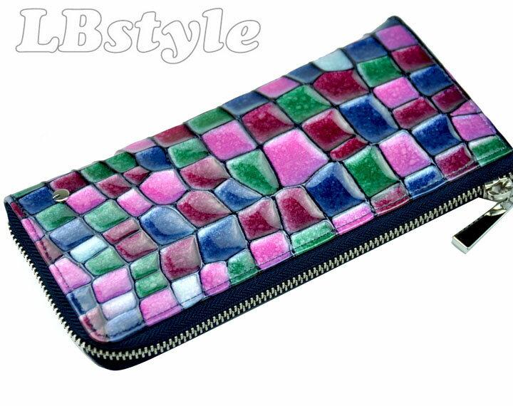 457c02adb671 COMME CA DU MODE コムサデモード レディース キップスキン ファスナー長財布です。 素 材 キップスキン カラー パープル系 サイズ  20cm×10cm 仕 様 札入れ×2、小銭 ...