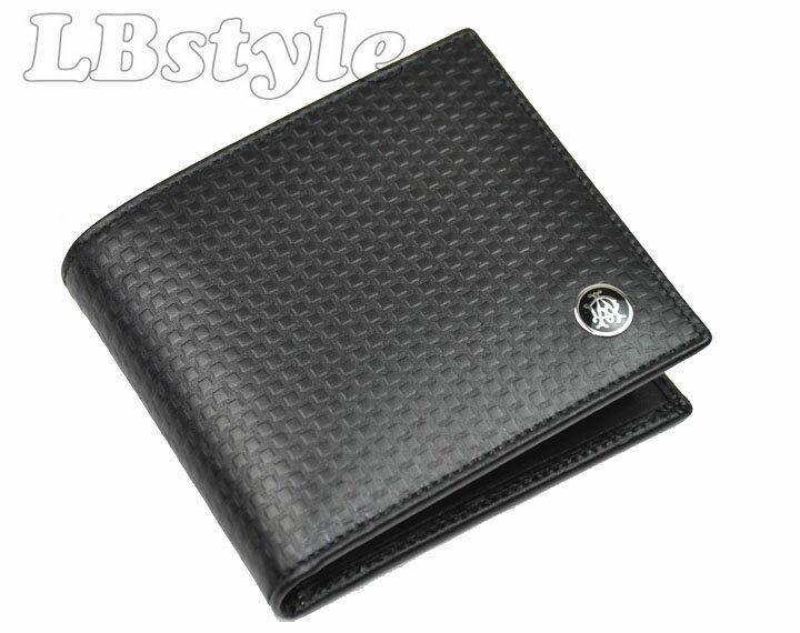d172a9e99880 Dunhill ダンヒル カーフレザー牛革 メンズ 二つ折り財布です。 素 材 牛革 カラー クロ サイズ 10.5cm×9.5cm 仕 様 札入れ×2、カード入れ×4、小銭入れ×1、  ...