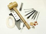 レーシィ手縫い工具セット【送料無料】[ぱれっと]レザークラフト工具スターターセット