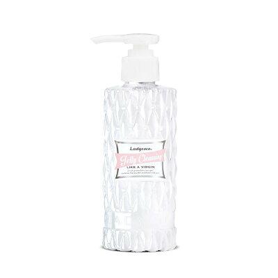 JELLYCLEANSINGLIKEAVIRGIN195mlボトル90%以上が保湿成分・マツエク対応・ダブル洗顔不要ジェリークレンジング・ライクアヴァージンLADYCOCOレディココ