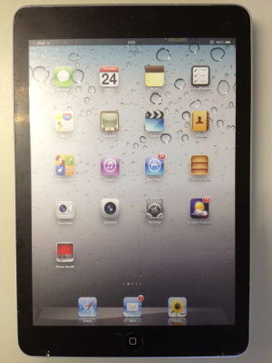 ipad mini モックアップ iPad mini モックアップ [ブラック]