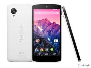 携帯電話 白ロム 携帯電話 Nexus5 LG-D821 16GB [ホワイト]