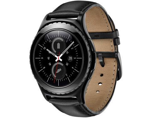 SAMSUNG(サムスン) Gear S2 classic SM-R7320[ブラック]ウェアラブル端末 腕時計 スマートウォッ...