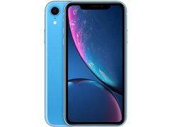 iPhoneXR64G[ブルー]SIMロック解除済白ロム