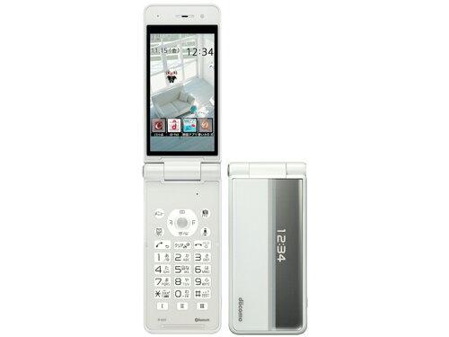 「新品・未使用」 携帯電話 白ロム docomo P-01F [White]