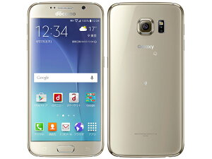 【新品・未使用】Galaxy S6 SC-05G [Gold Platinum]白ロム 格安ス…