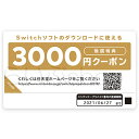 ニンテンドープリペイドカード3000円 Nintendo Switchダウンロー